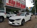SÀN Ô TÔ HN Bán Mazda 6 bản 2.0AT màu trắng sản xuất năm 2017, x
